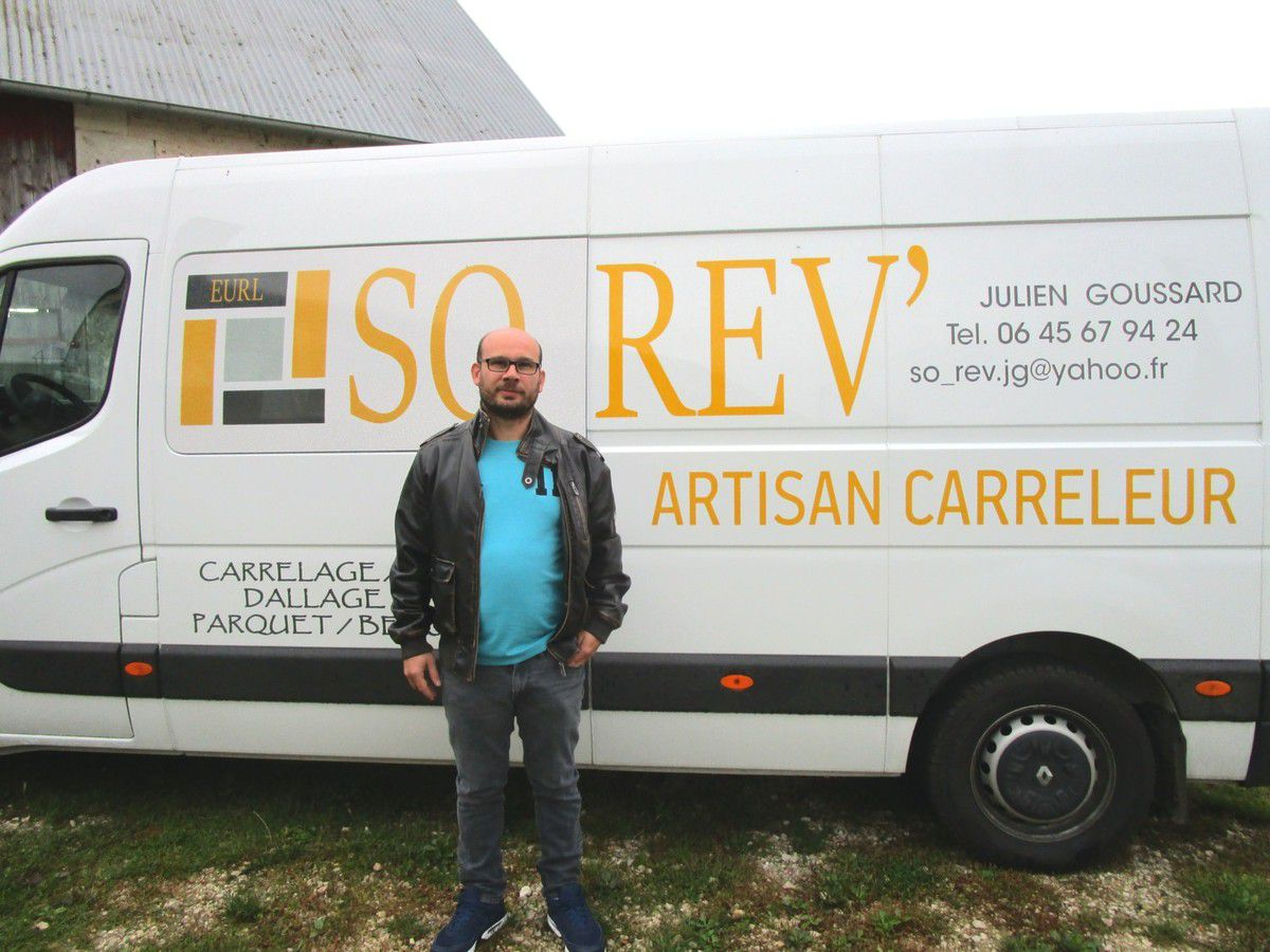 Julien Goussard, artisan careleur