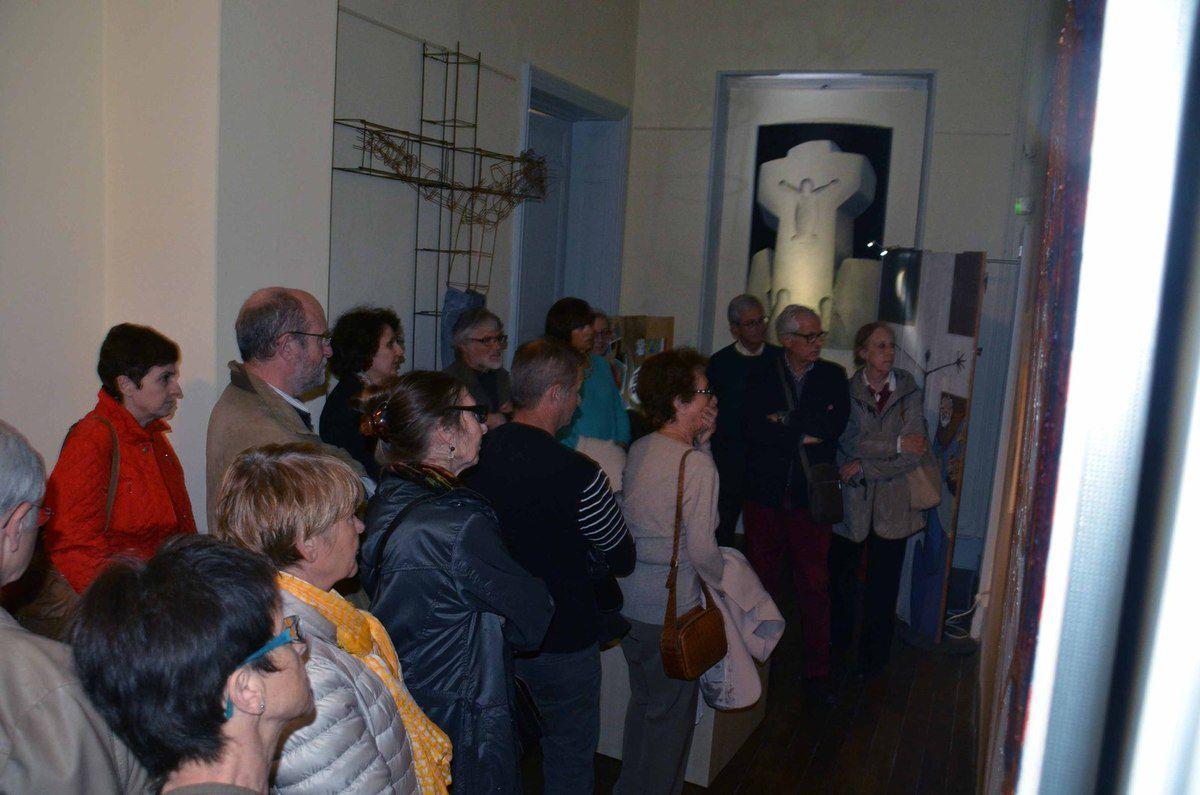 La face cachée de Jean-Pierre Chatelet révélée aux amis du musée.