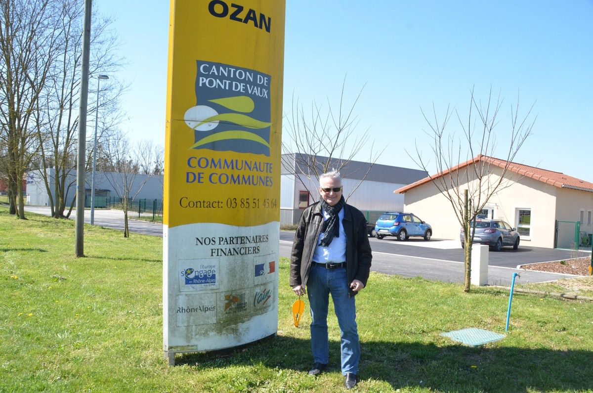 La zone intercommunale d'Ozan poursuit son développement.