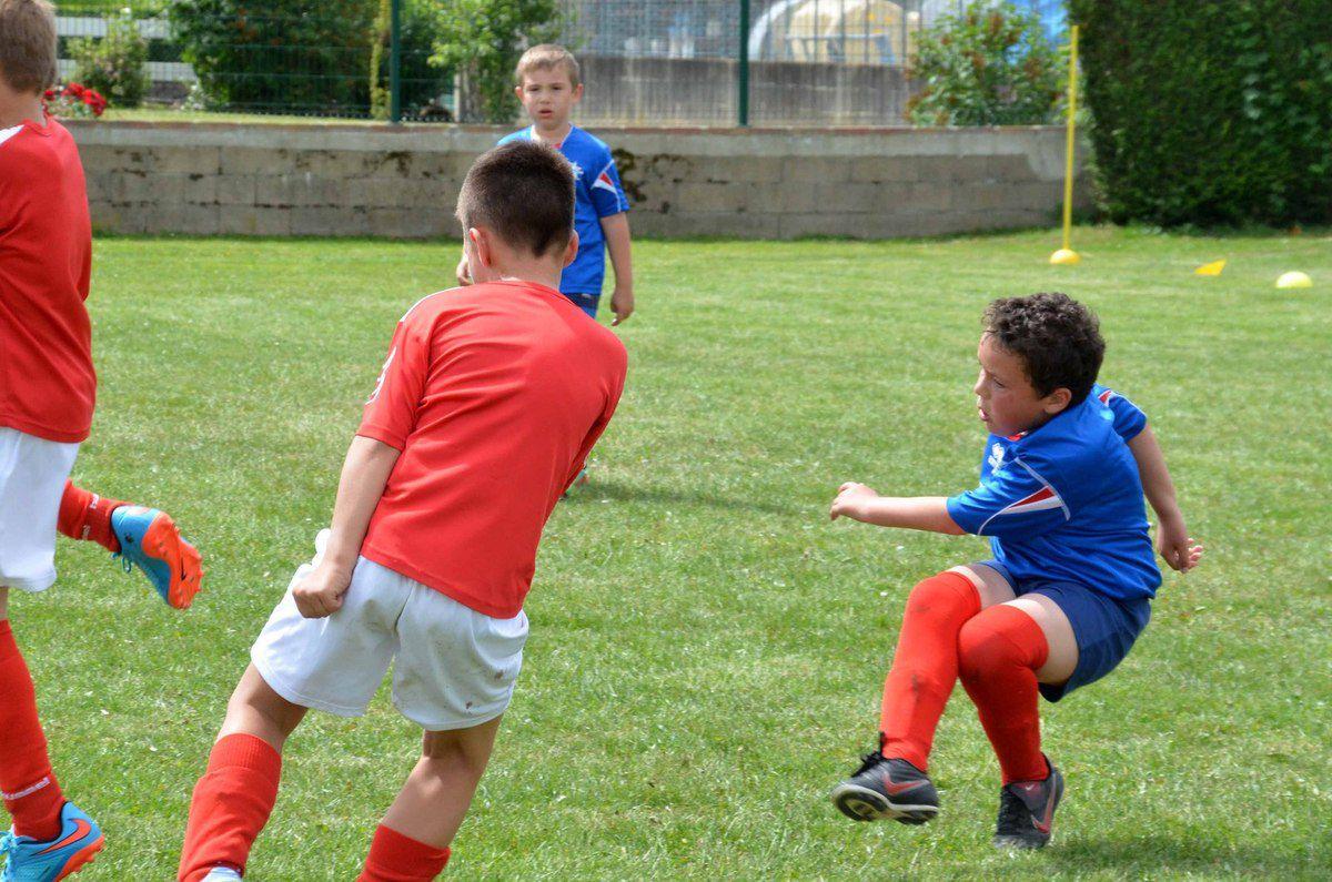 Un superbe week-end pour les jeunes pousses du football régional.