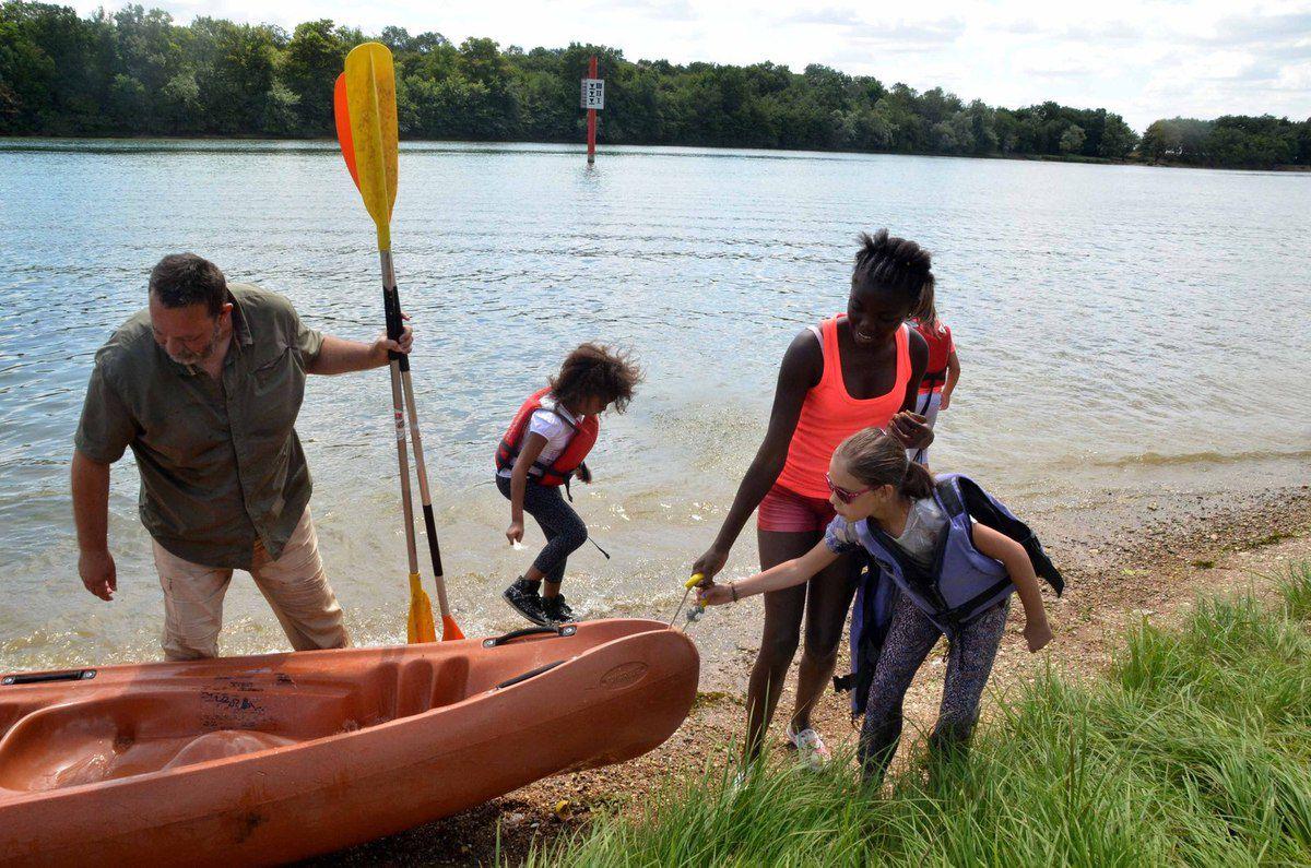 Les premières sorties en canoë ont fait le plein.
