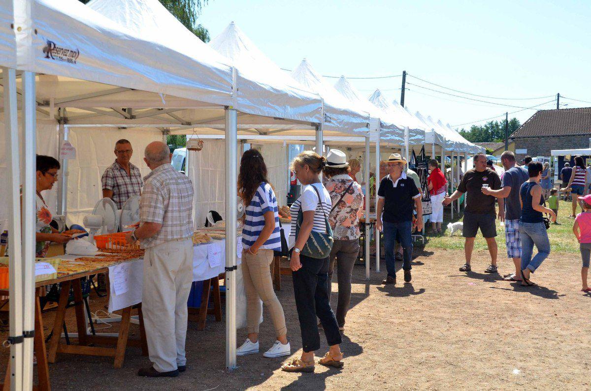 La fête artisanale de Reyssouze s'est achevée dimanche soir sur un brillant succès.