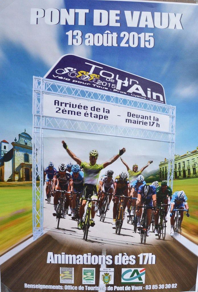Le Tour de l'Ain passe jeudi prochain.