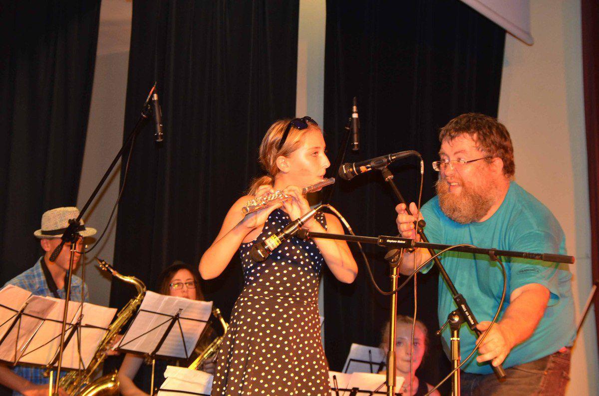 Le second concert de Jazz en Herbe a fait salle comble dans une ambiance extraordinaire.