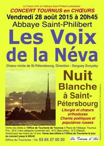 Les Voix de la Néva à Saint-Philibert.