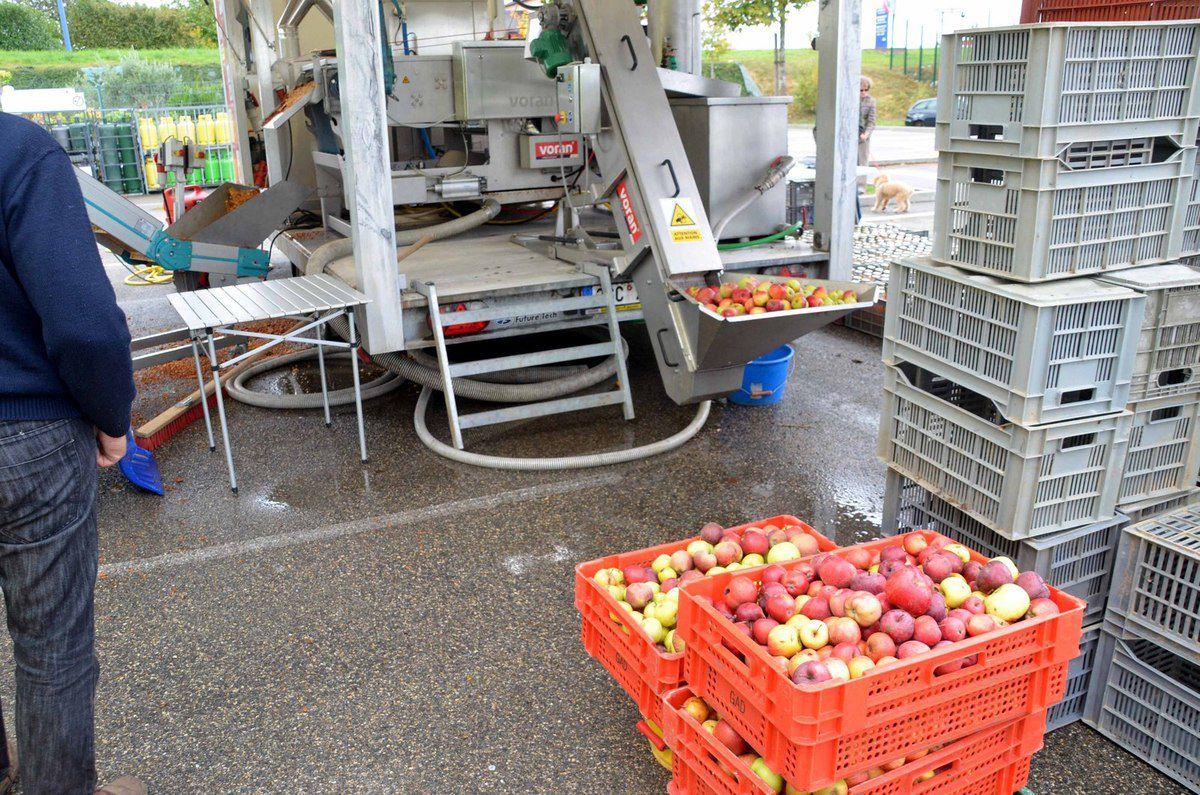Le concept « Pressi Mobile » permet de remédier au gaspillage des fruits.