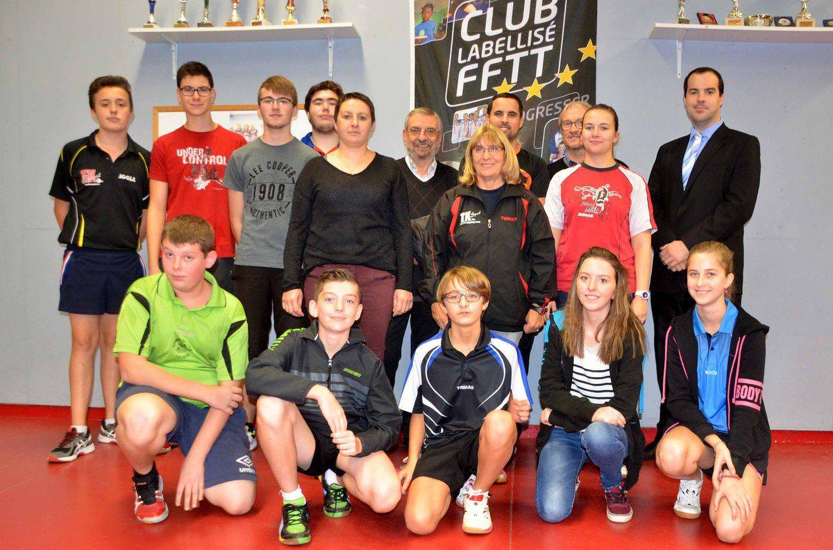 Une formation pilote qui intéresse la Fédération française de tennis de table.