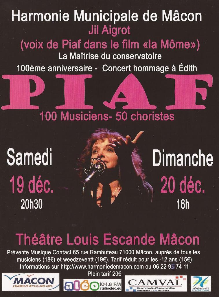 Jil Aigrot donne deux concerts les 19 et 20 décembre à Mâcon.