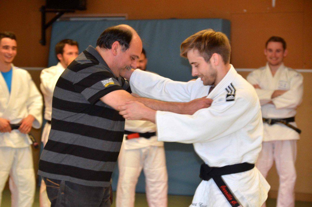 Clément Carrillo a reçu la 37ème ceinture noire du Judo club.