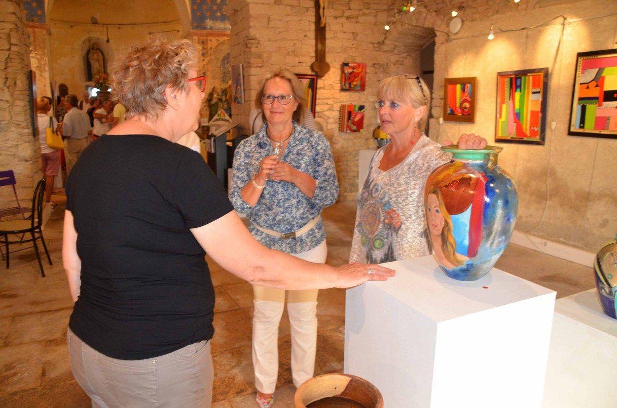 De belles expositions et animations pendant tout l'été à la Chapelle des arts.