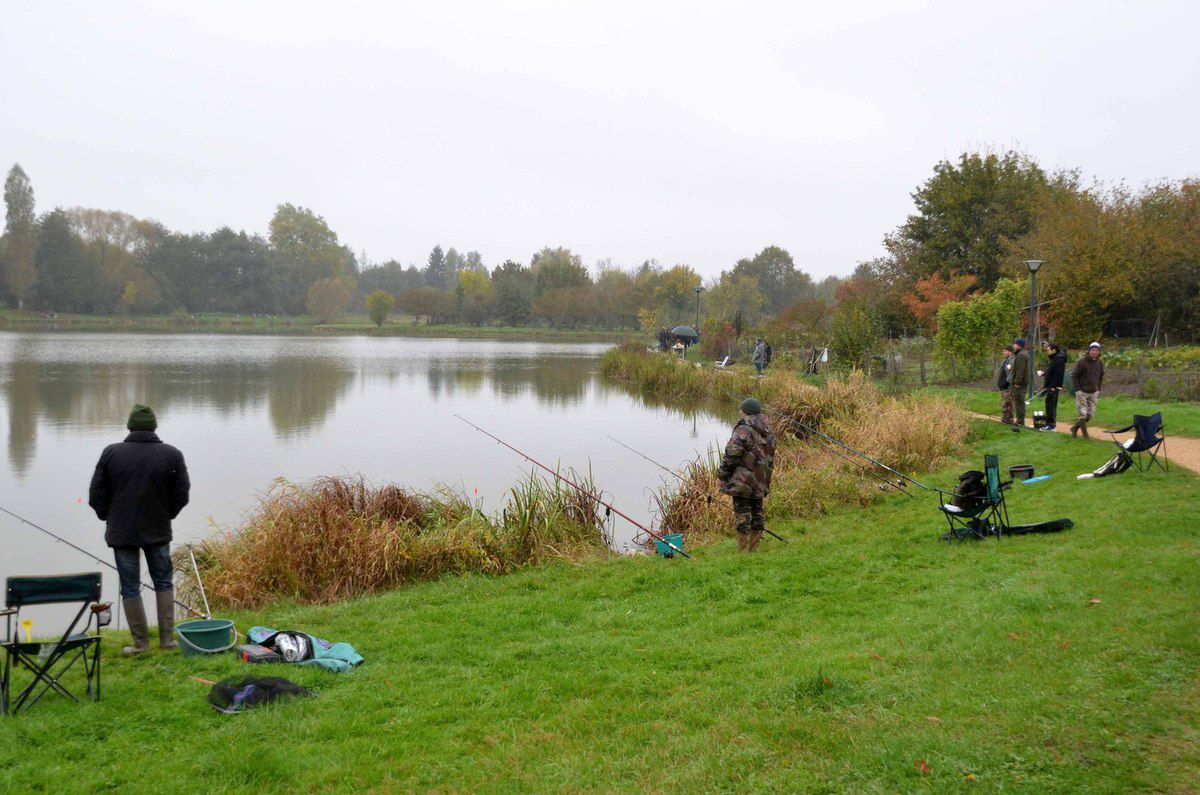 Le concours aux carnassiers a réuni 73 pêcheurs.