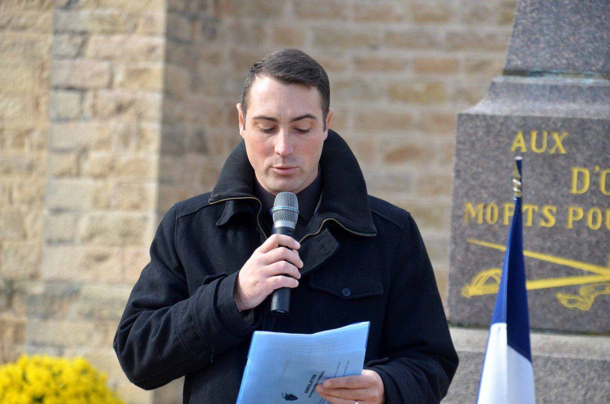 Ozan : entrée d'un nouveau SPV à l'occasion de la cérémonie du 11 novembre.