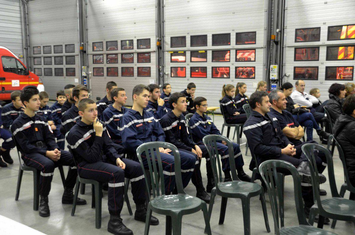 Dix JSP ont reçu leurs diplômes.