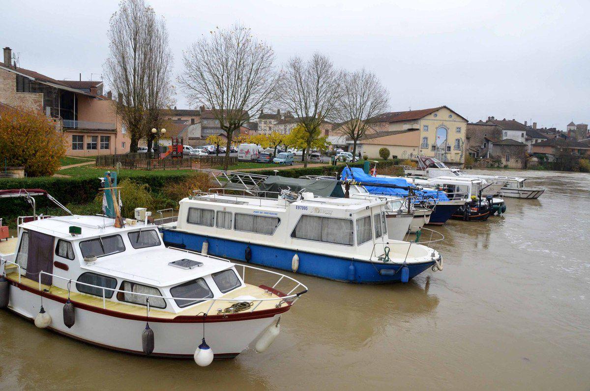 La Reyssouze et la Saône sont en crue pour la 7ème fois de l'année.