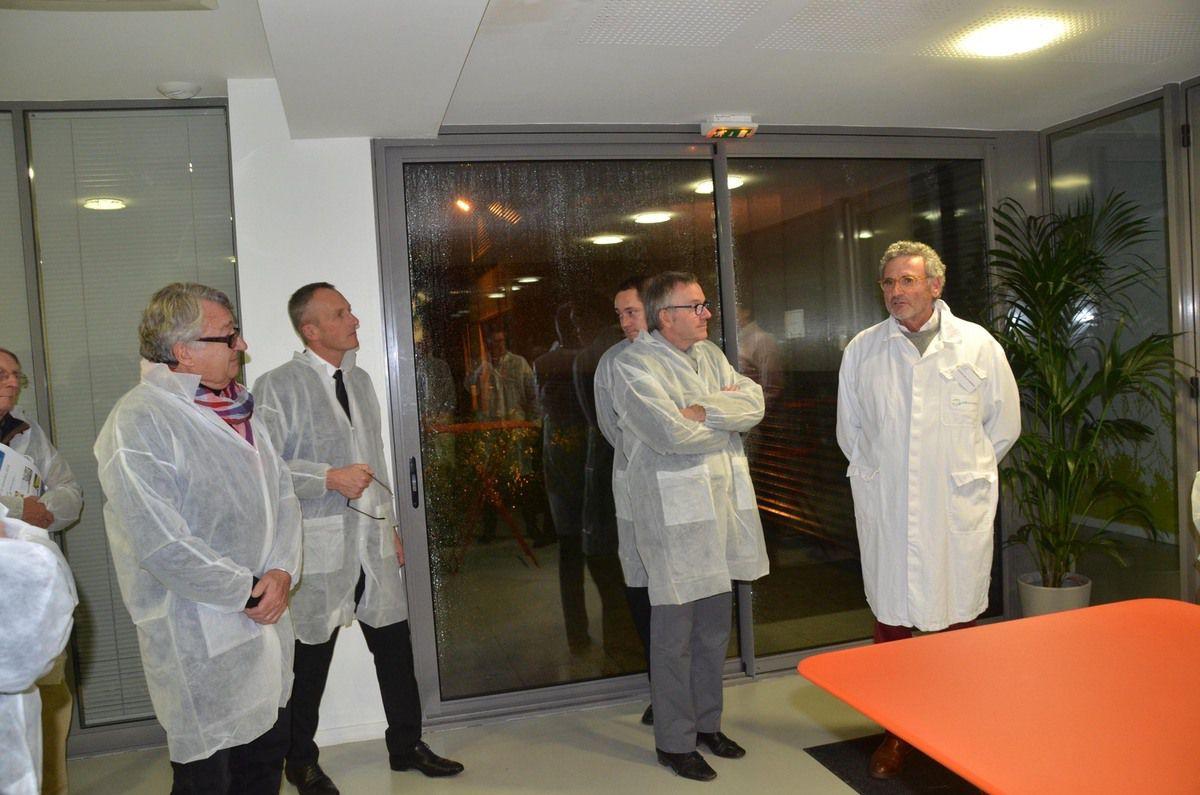 LCB food safety est en plein essor dans sa nouvelle usine installée sur Acti-parc à Boz.