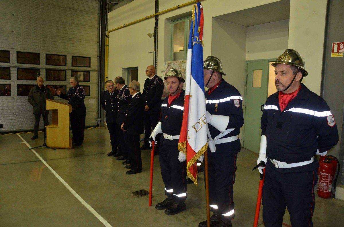 Les sapeurs-pompiers du CS Pont-de-Vaux ont fêté la Sainte-Barbe.
