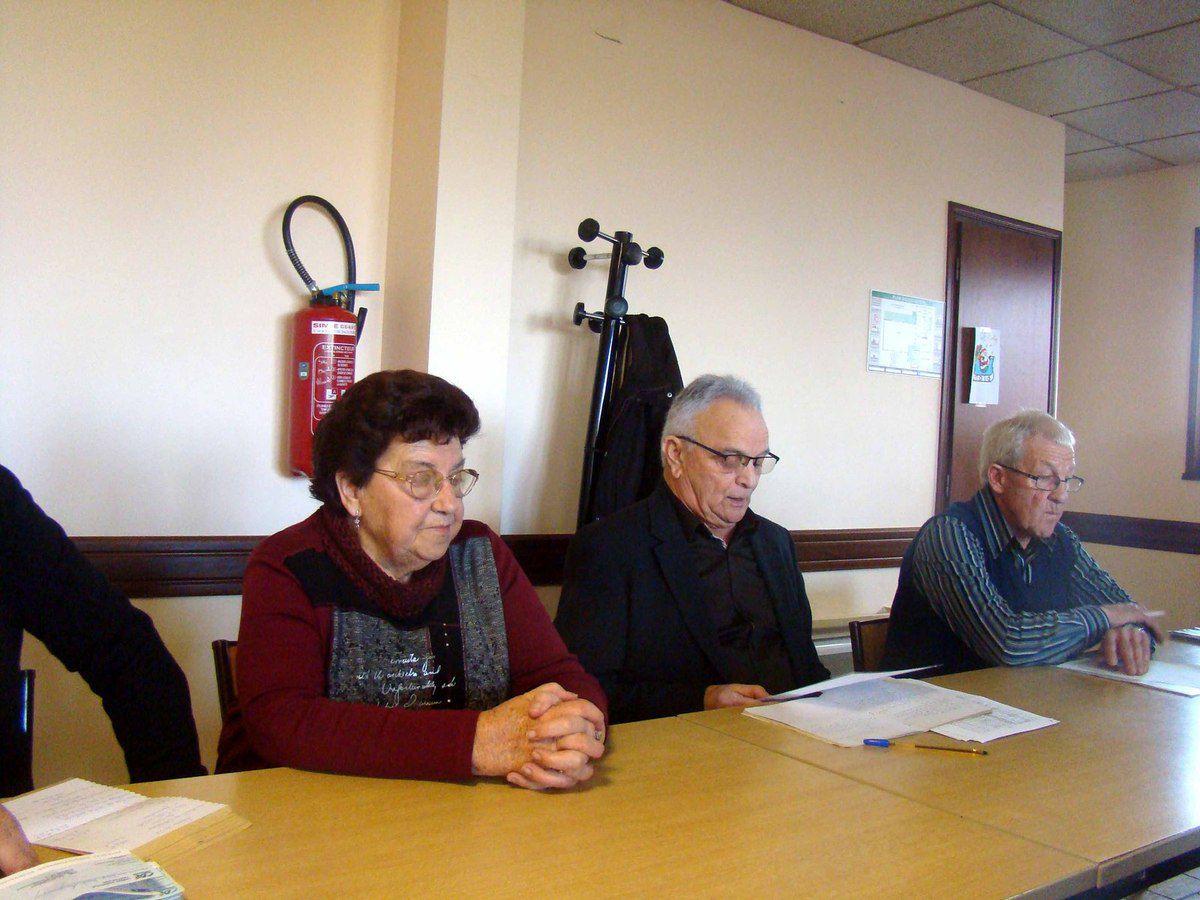 Club des Retraités de Gorrevod.