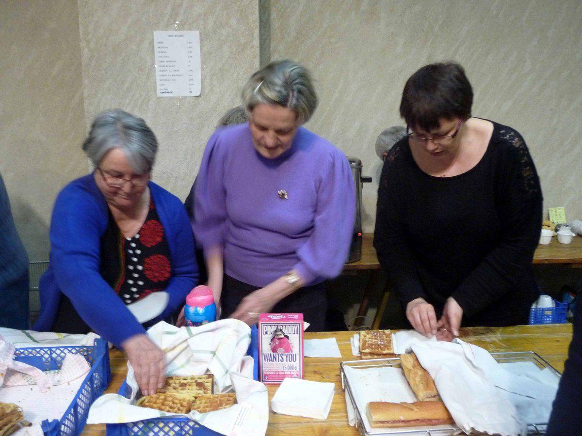 Le groupe folklorique a organisé le premier loto de l'année.