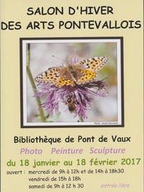 Le salon d'hiver des arts pontévallois se tient à la bibliothèque municipal jusqu'au 18 févrtier.