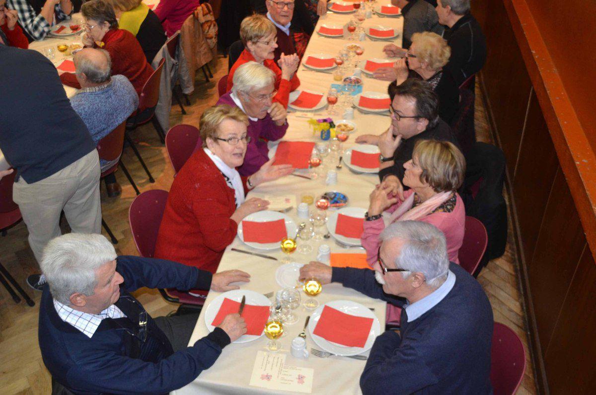 Le comité de jumelage a réuni 220 convives à son repas annuel.