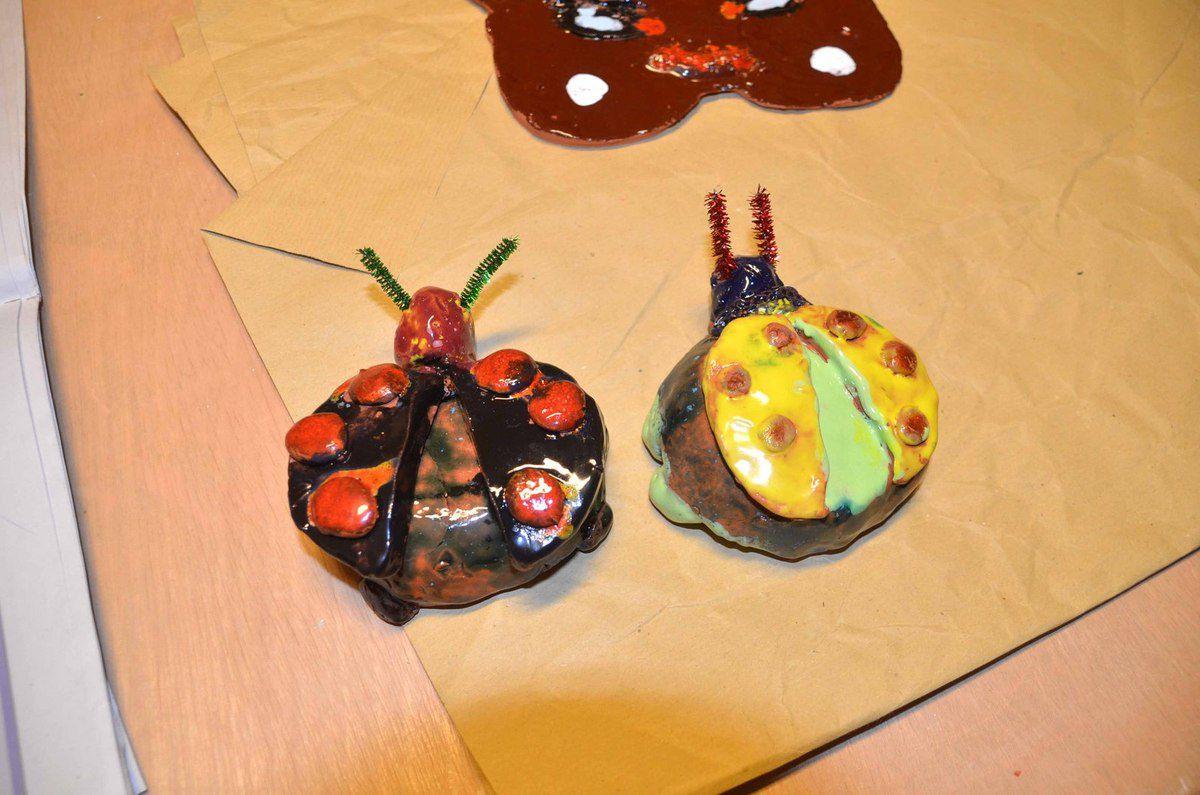 Deux stages de poterie organisés pendant les vacances scolaires de février par SLC ont fait le plein.