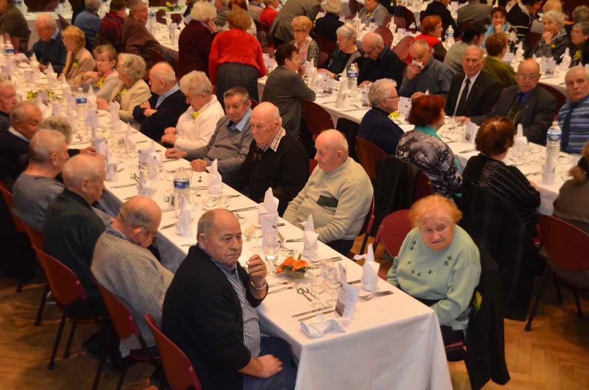 Le repas des anciens a réuni 186 convives.