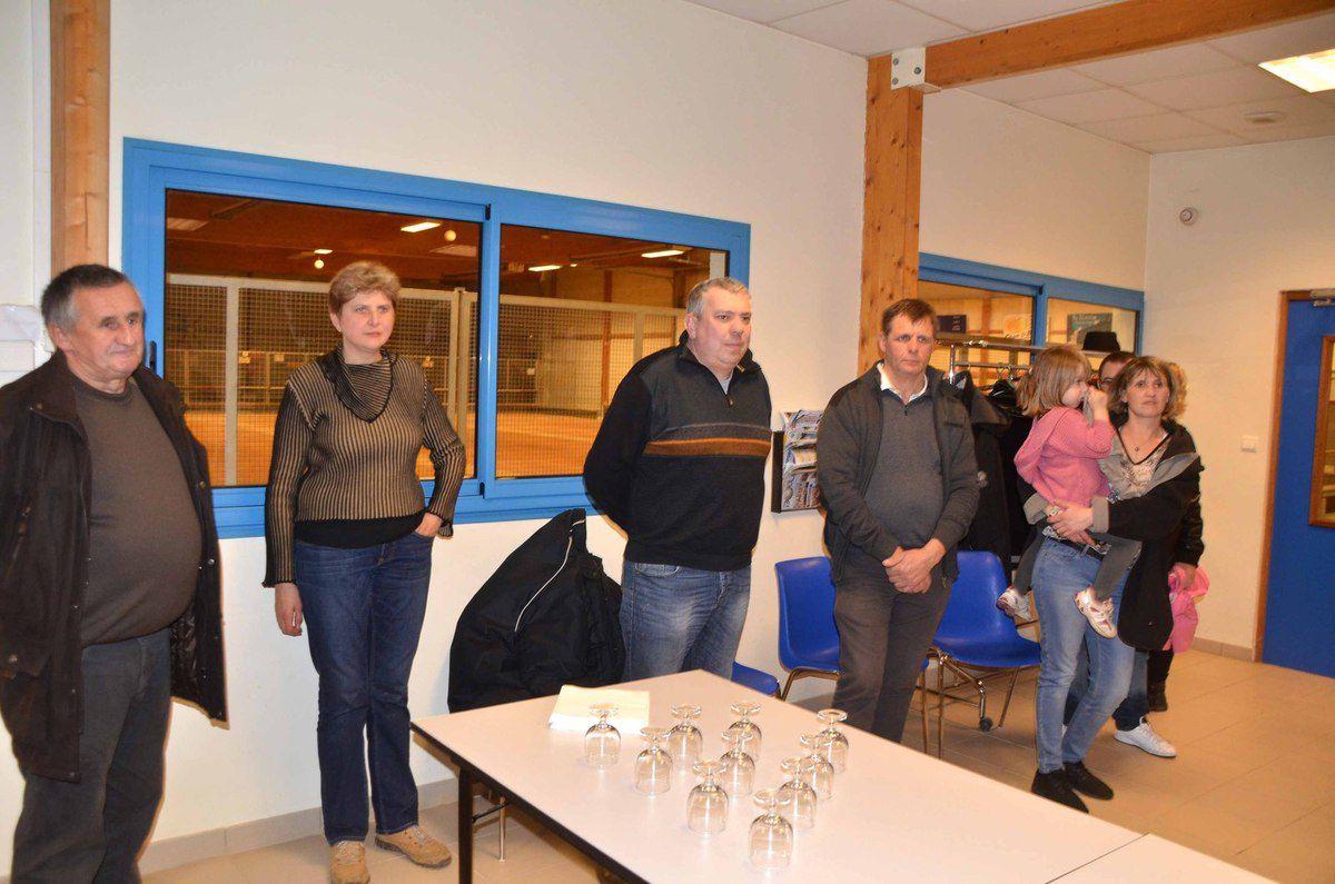 Le comité de gestion du boulodrome a remercié ses partenaires.