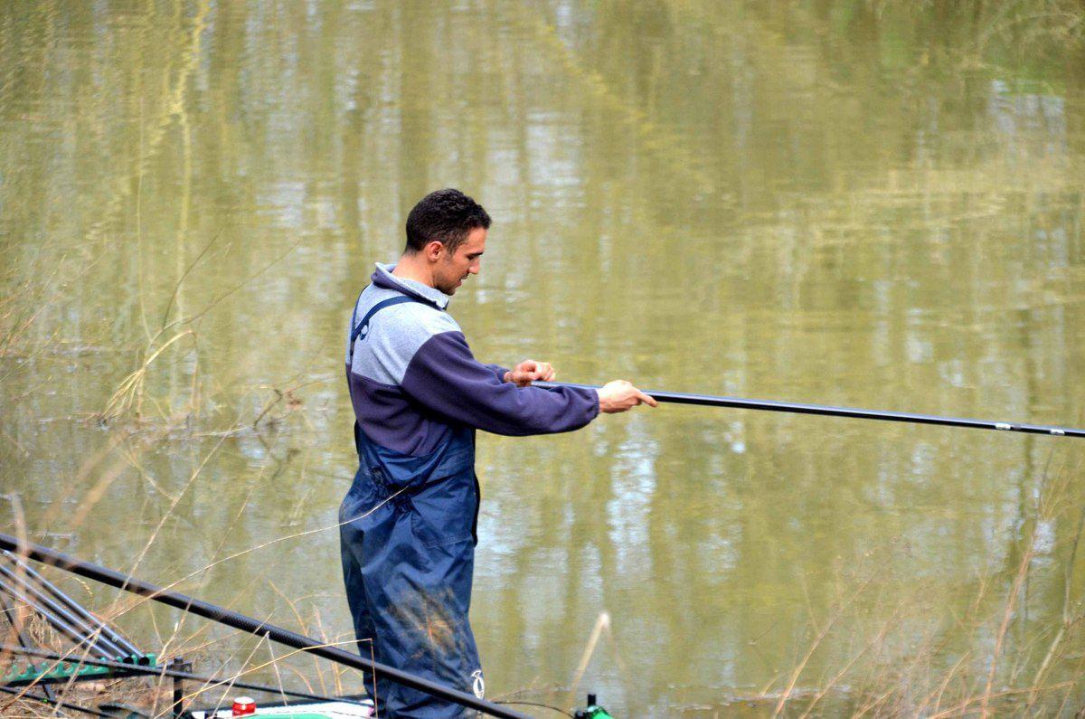 De beaux tableaux de pêche encore sur le canal à la seconde manche du Challenge Sensas.