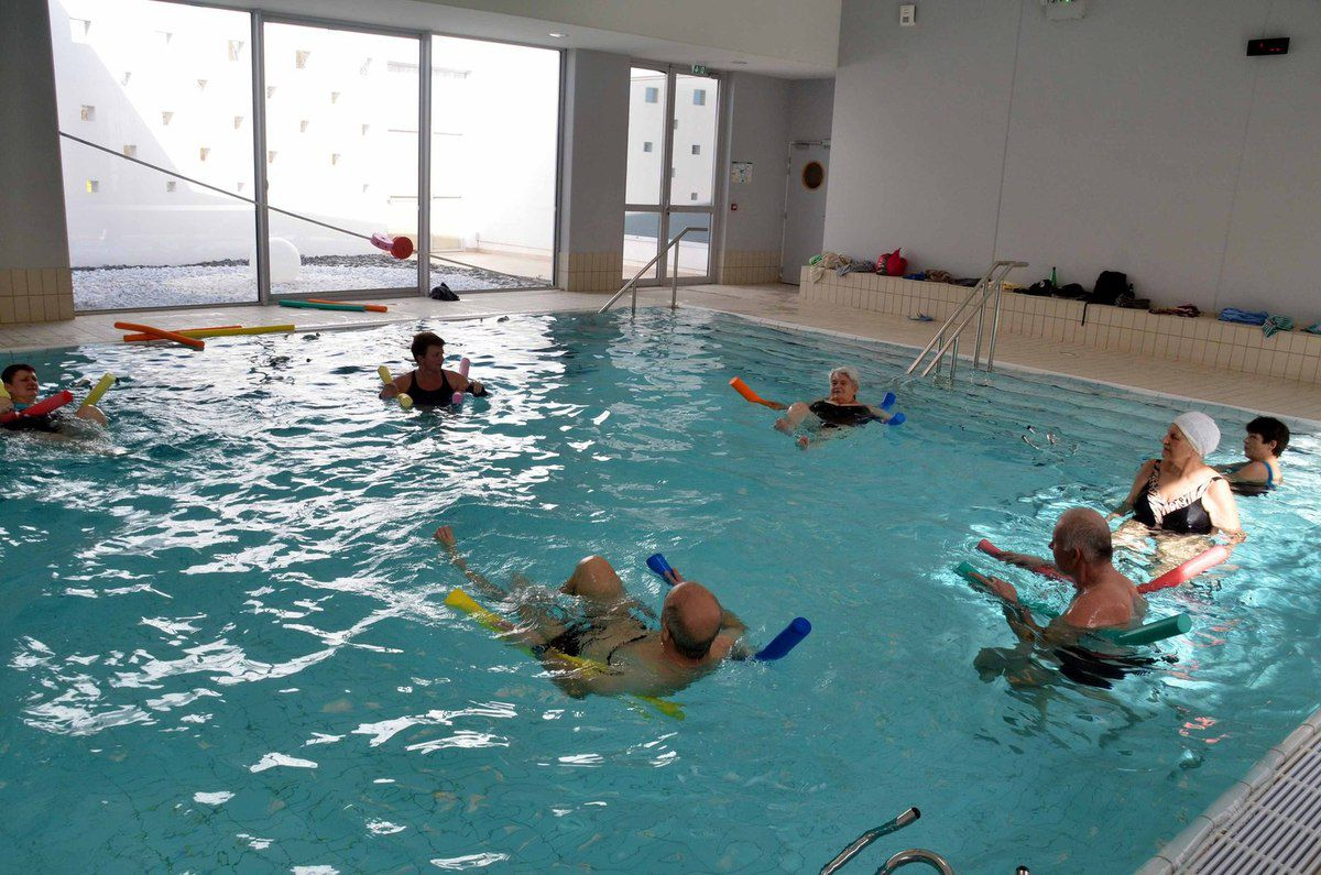 La piscine Archipel propose des séances sport santé.