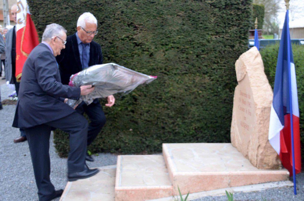 La cérémonie de commémoration du 19 mars 1962 avait lieu cette année à Arbigny.