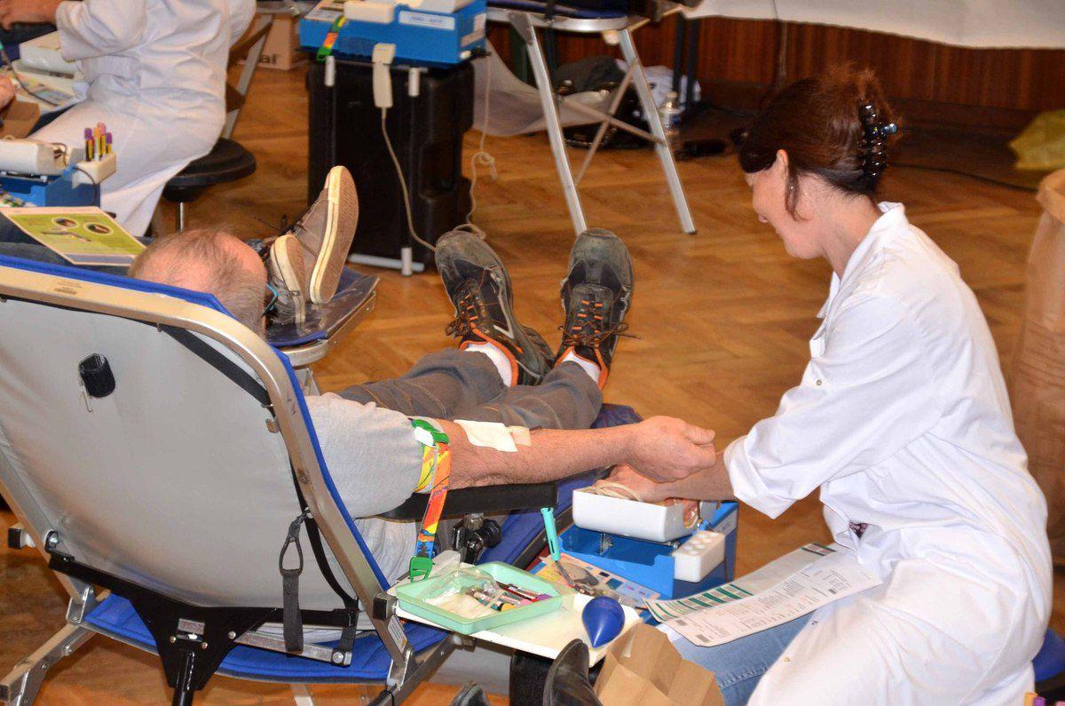 Jean Dothal a participé à deux cents collectes de sang.