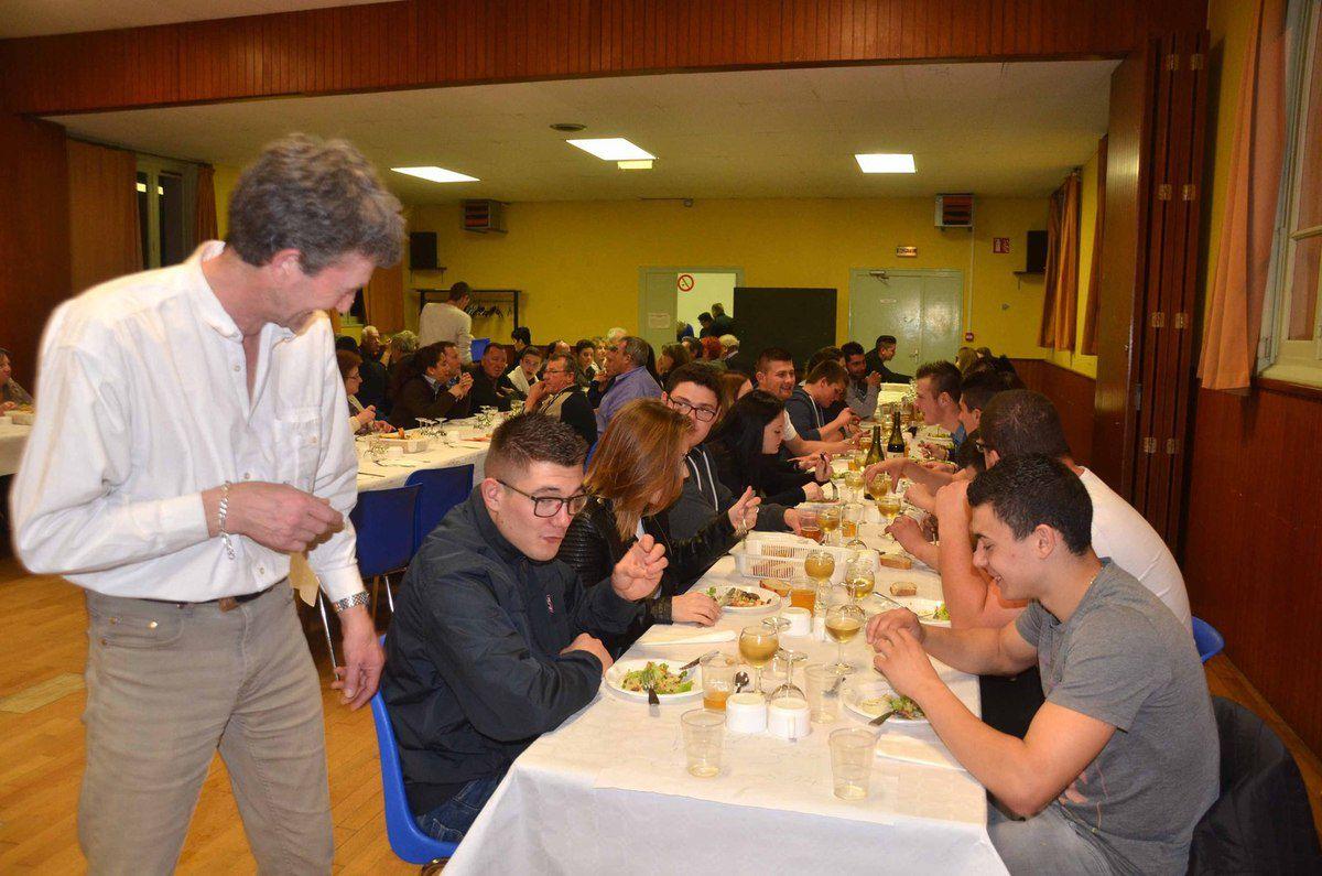 Le repas de la Saint-Claude s'est tenu sous la houlette de Philippe Morel, nouveau président.