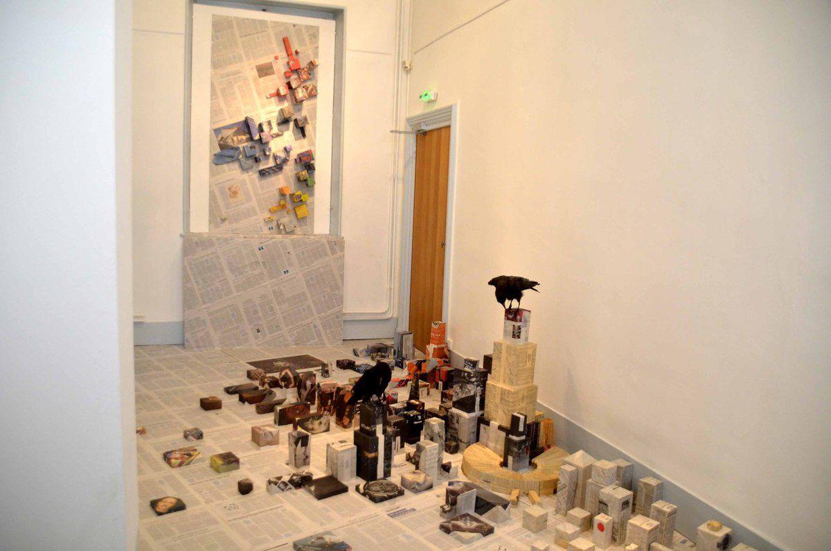 Une excellente exposition temporaire : « Architectures de l'imaginaire » lance l'année au musée Antoine-Chintreuil.