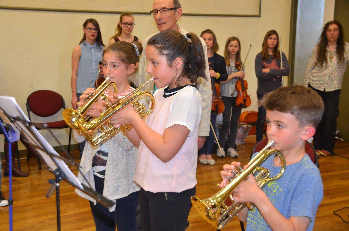 L'audition de printemps a réuni une quarantaine d'élèves de l'AIAMA.