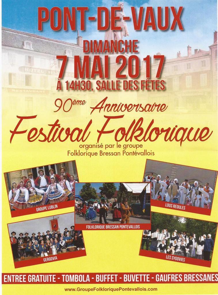 Le festival du 90ème anniversaire du groupe folklorique pontévallois est en vue.