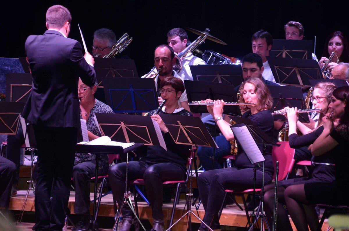 Le 3ème concert de l'Orchestre de Pont-de-Vaux a fait salle comble.