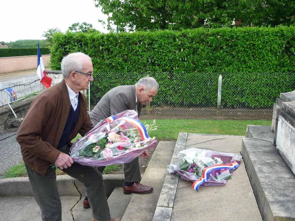 Chavannes-sur-Reyssouze : la commune a commémoré le 8 Mai 1945.