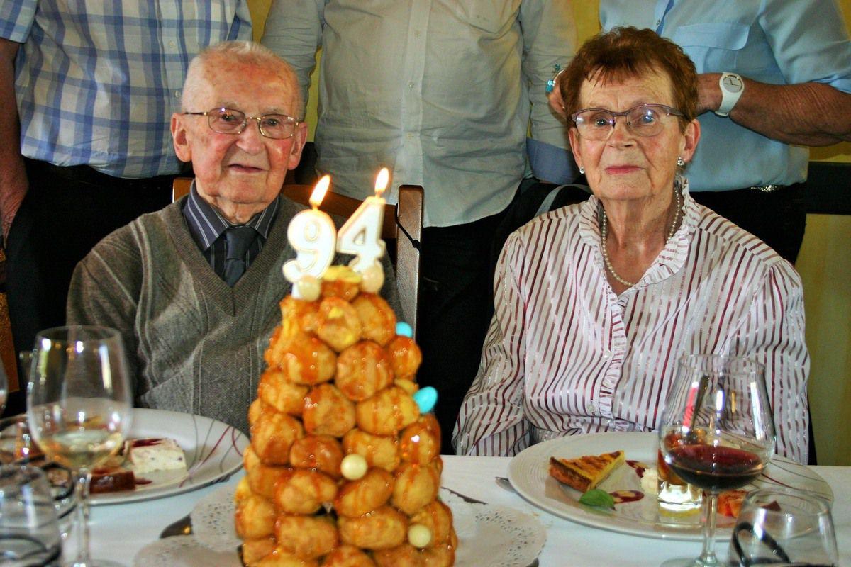 Marie et Raymond ont célébré leurs noces de platine.