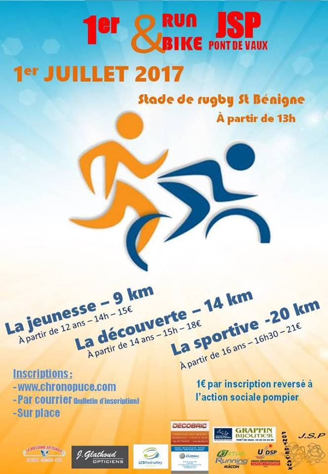 Les JSP reprennent le run and bike.