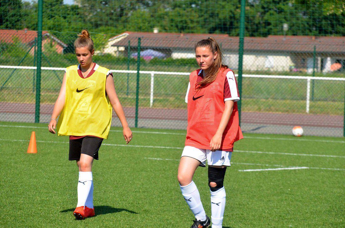 Le District de l'Ain a célébré sa 11ème Journée départementale du football féminin à Saint-Bénigne.