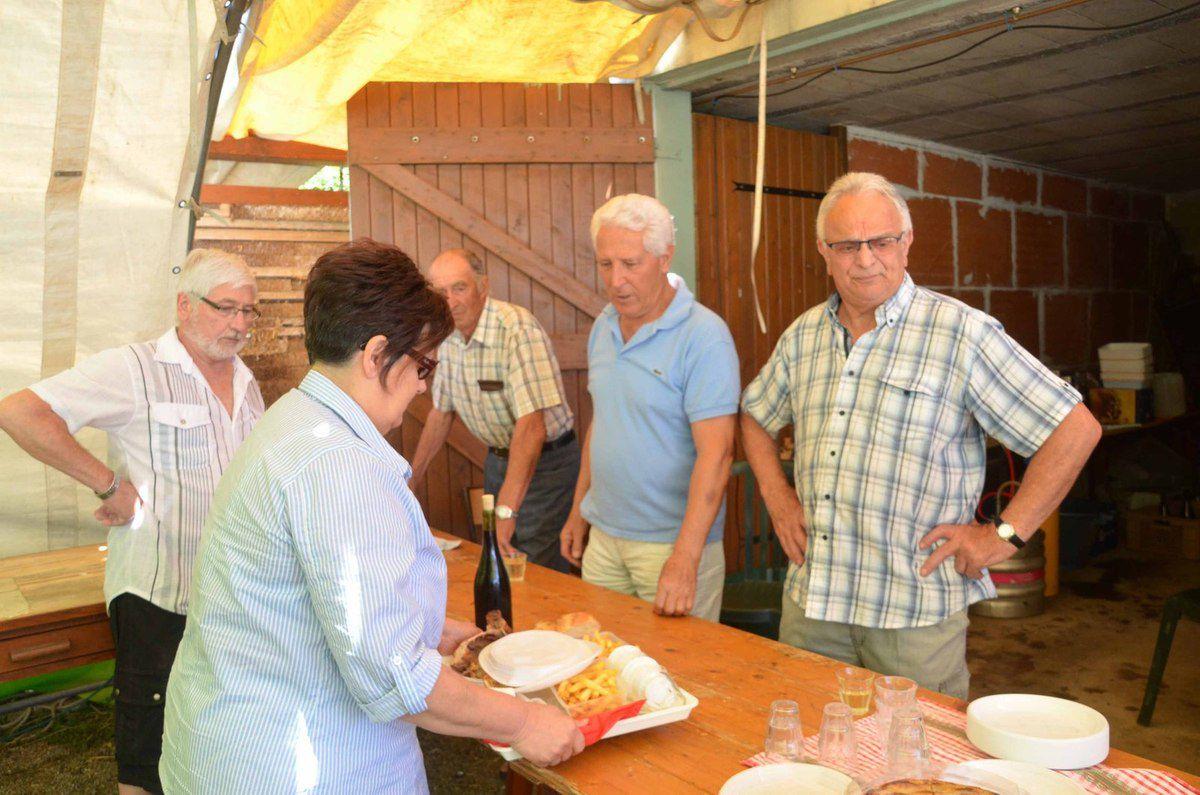 Trois jours de fête patronale sous le soleil à Gorrevod.
