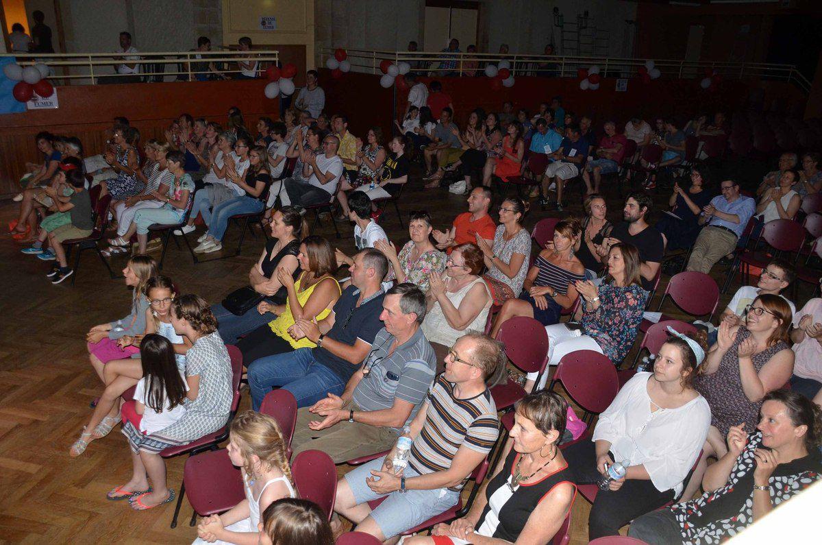 La première journée d'Ain'Pro visa a rassemblé 210 spectateurs.