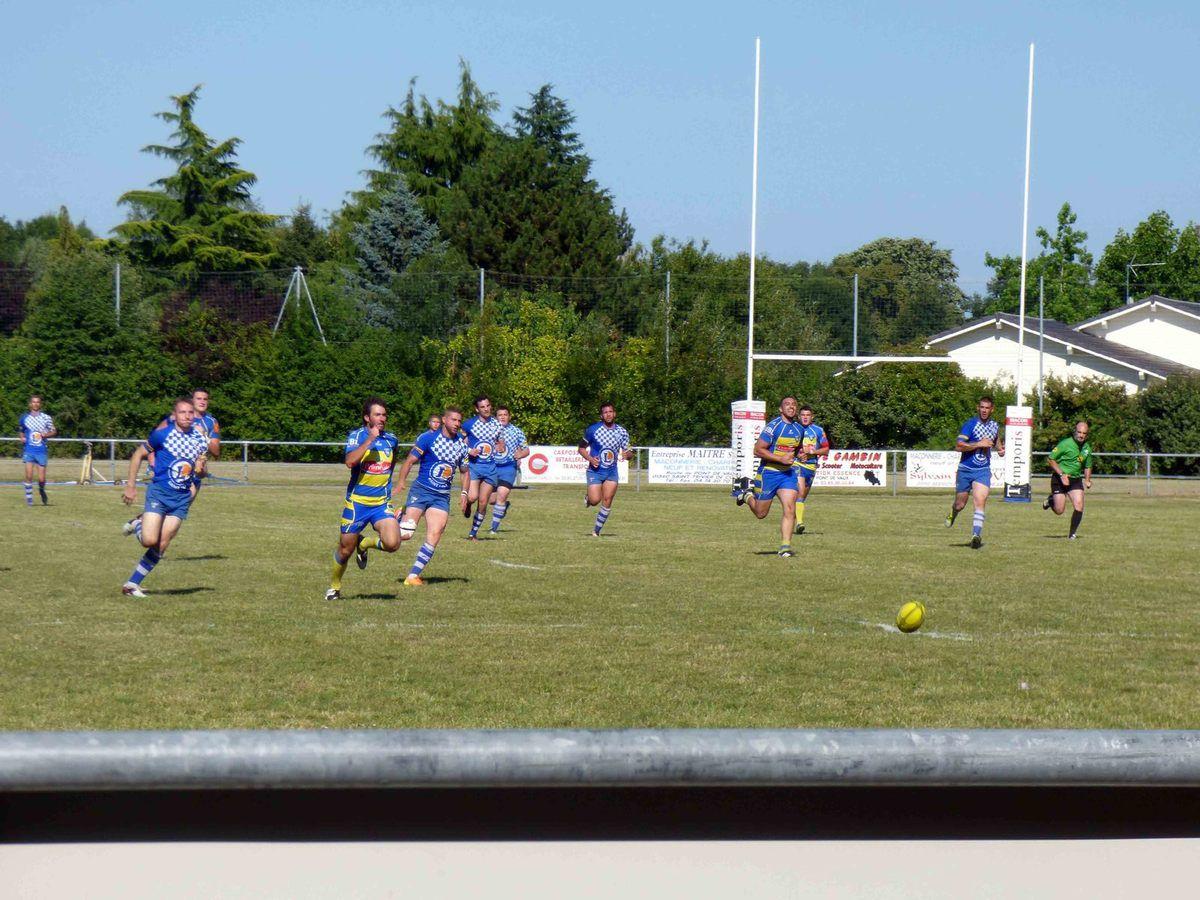 Une grande journée de finales de rugby.