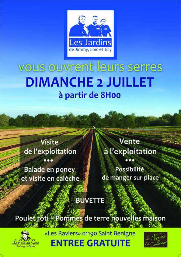 Les jardins de Jimmy, Loïc et Jilly ouvrent leurs portes le dimanche 2 juillet.