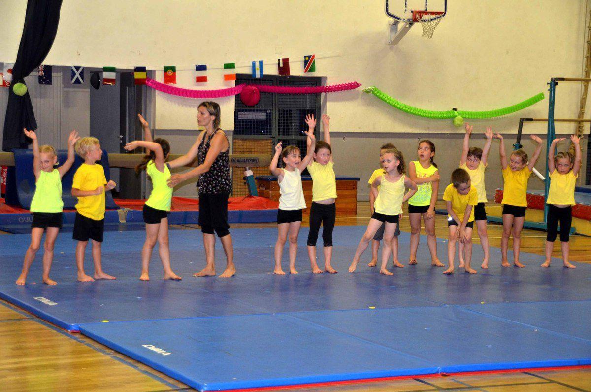 Les évolutions de 70 jeunes gymnastes ont animé le gala de fin d'année de SLC.