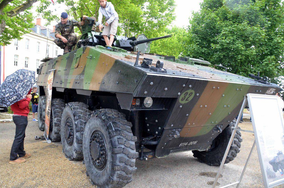 Succès au-delà des prévisions pour la première Journée départementale des armées.