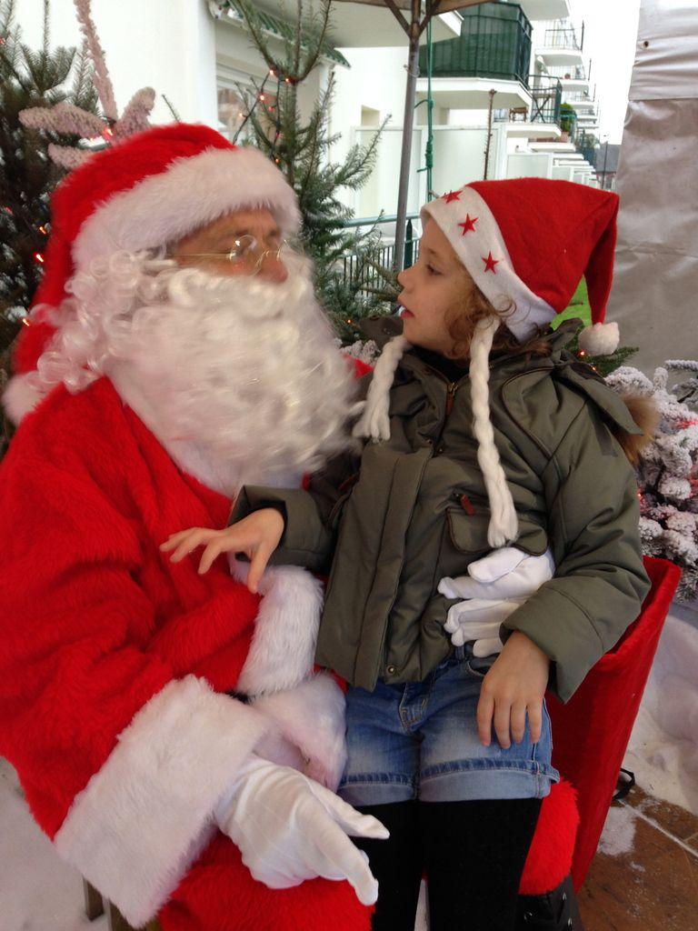 Avec le Père-Noël!