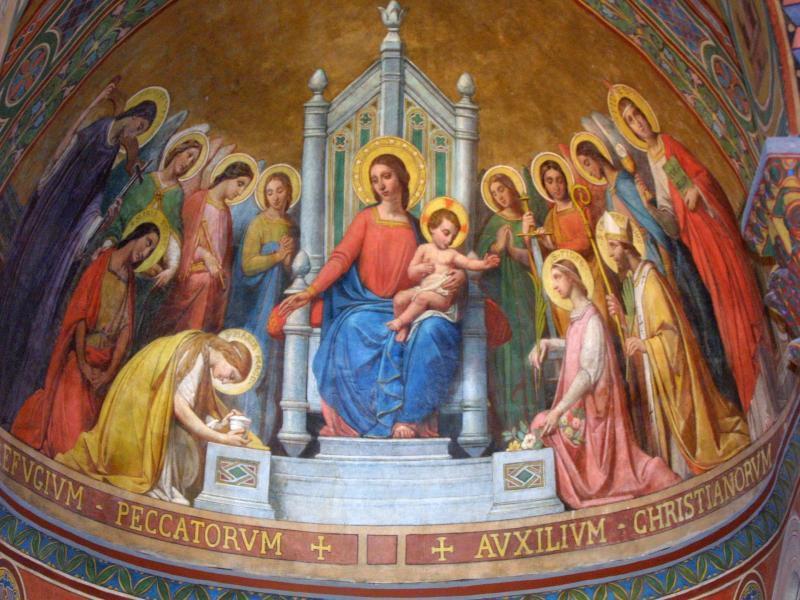 voute de la Cathédrale St Caprais