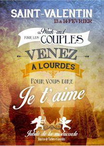 """A Lourdes"""": Je t'aime"""""""
