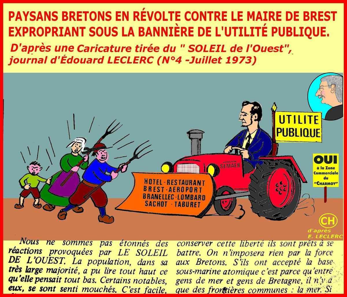 Paysans bretons en révolte